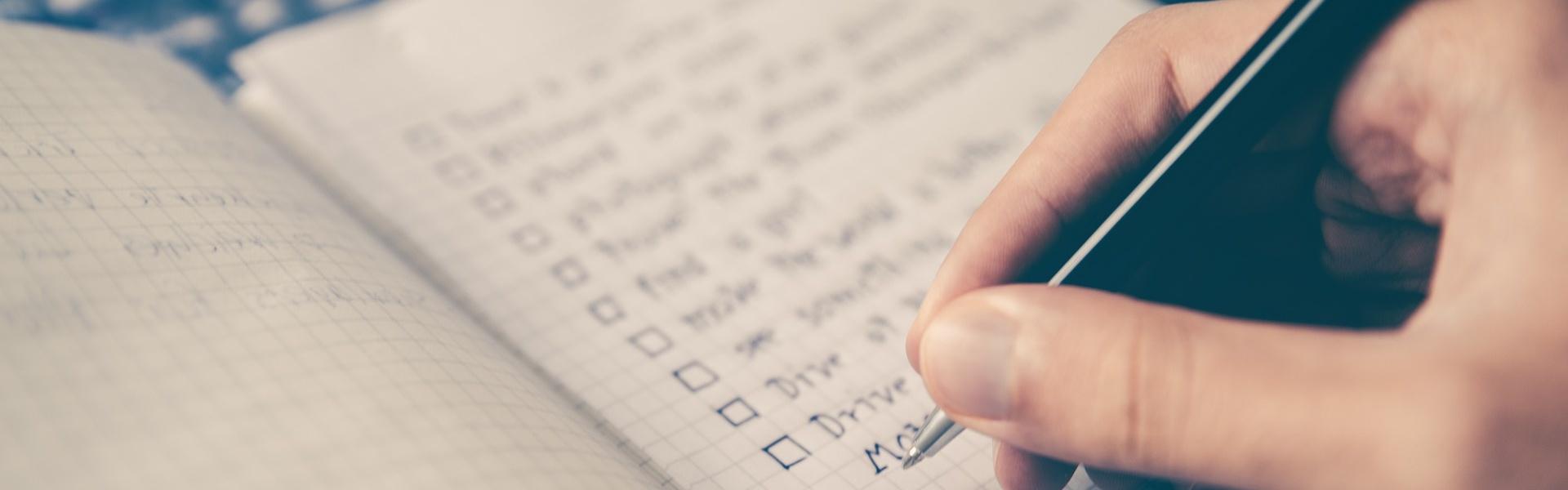Checkliste Erstgespräch